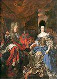 Kurfürstenpaar Jan Wellem + AML de Medici